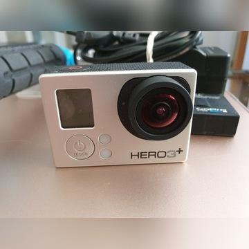 Kamera GoPro Hero 3+ Silver Edition + gratisy!