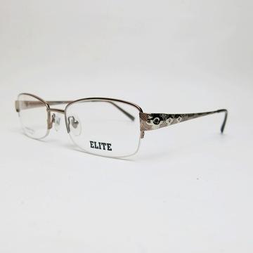 ELITE Visage 357 oprawki okulary zerówki złote