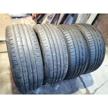 Opony letnie 205/55/16. Bridgestone, Continental
