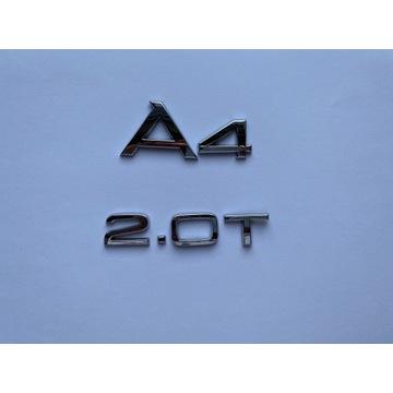 Emblematy do AUDI A4
