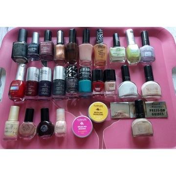 Lakiery do paznokci 25 szt zestaw french manicure