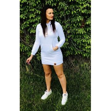 Sukienka Tunika Dresowa