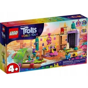 Lego 41253 Trolls Pustkowie i przygoda na tratwie