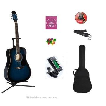 Gitara akustyczna + pakiet akcesoriów - sklep