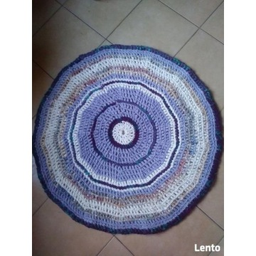 Chodnik, dywanik bawełna hand made - 100 cm super