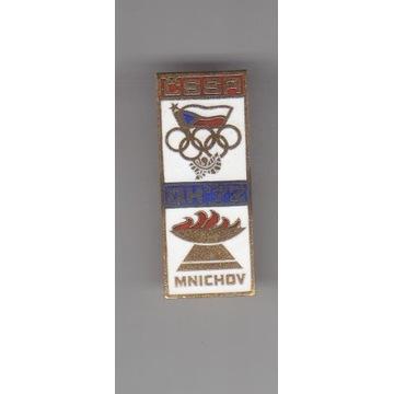 Olimpiada Monachium 1972 Team CSSR