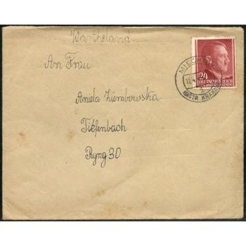 Miechów GG list z 12.04.1943