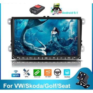 Radio samochodowe VW SKODA SEAT - WIFI, Bluetooth