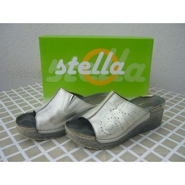 Klapki  skórzane Stella 39