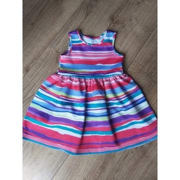 Letnia sukienka 122-128