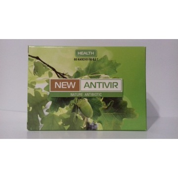 New Antivir (Antywir) 60 kaps Naturalny antybiotyk