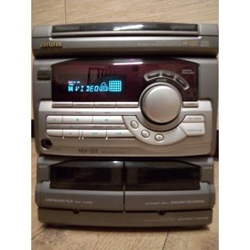 ŚWIETNA WIEŻA AIWA NSX-S22 .AUX,CD,KASETA,RADIO
