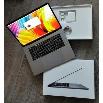 """MacBook Pro 15"""" 2017r. i7/16GB/256SSD/Pro555"""