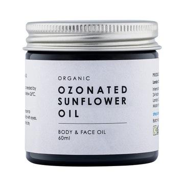 BIO Ozonowany Olej Słonecznikowy Ozonowa Maść