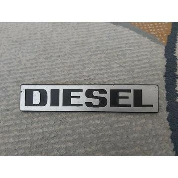 Emblemat mercedes benz diesel