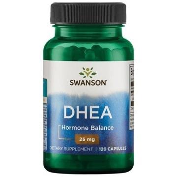 DHEA 25 mg 120 kapsulek SWANSON