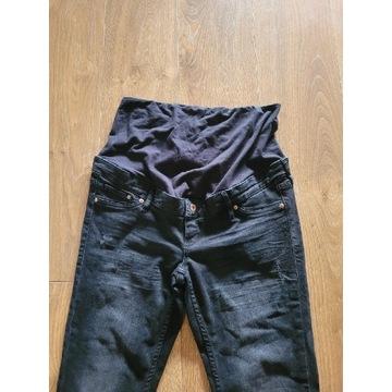 H&M jeansy ciążowe z pasem 44