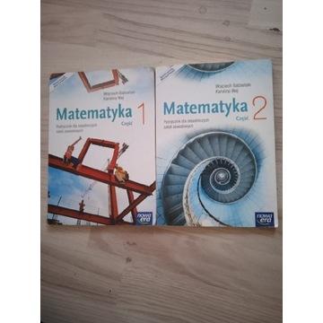 Pakiet książek do matematyki część 1 i 2