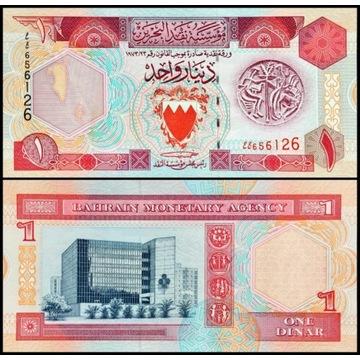 Bahrajn 1 Dinar 1993 UNC