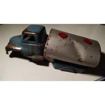CYSTERNA Palart, stary metalowy samochód  PRL