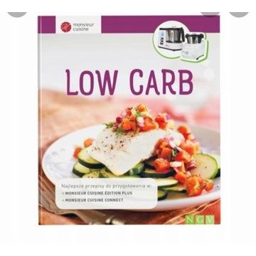 Monsieur Cuisine Connect low carb nowa książka