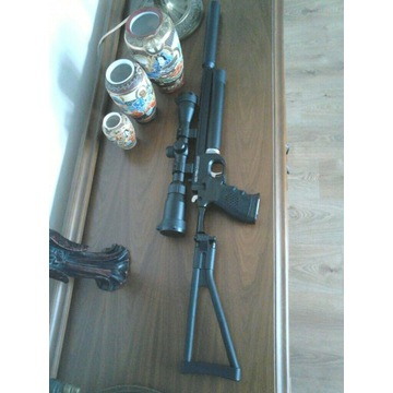 Artemis PP 700 PCP pistolet wiatrówka tłumik kolba