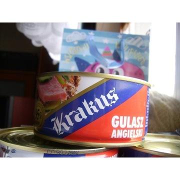 Gulasz angielski KRAKUS 300 g 6 sztuk 16. 09. 2022