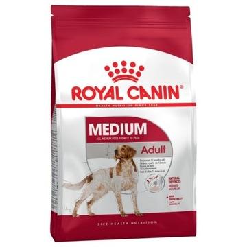 ROYAL CANIN MEDIUM ADULT 15kg (USZK.OPAKOWANIE)