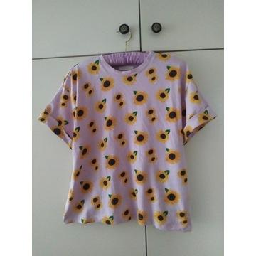 Nowy T-shirt RESERVED S słoneczniki