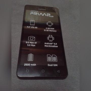 MyPhone PRIME plus nowy tani smartfon z gwarancją