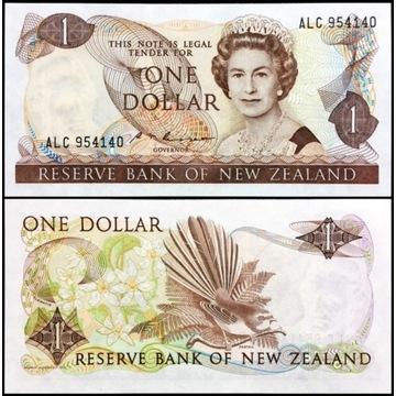 Nowa Zelandia 1 Dollar 1985 UNC