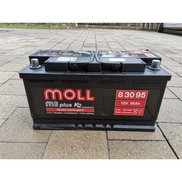 Akumulator MOLL m3 plus 95Ah 850A (EN)