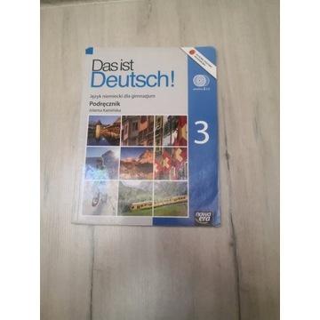 Das ist Deutsch 3   Podręcznik do niemieckiego  