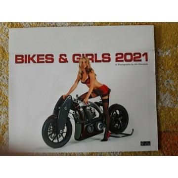 Blues and girls kalendarz na rok 2021/ 42x59cm