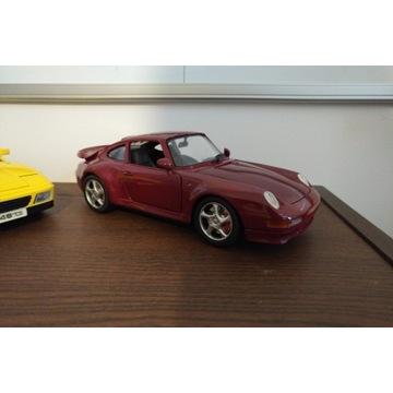 Model anson porsche 911 993 turbo bburago 1:18