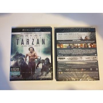 Tarzan - 4K UHD + Blu Ray, HDR, PL - folia