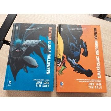 Batman Długie Halloween + Mroczne zwycięstwo