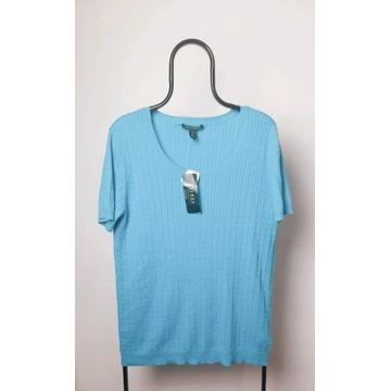 Ralph Lauren turkusowa bluzka nowa XXL