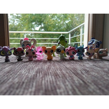 Zestaw mini figurek Littlest Pet Shop