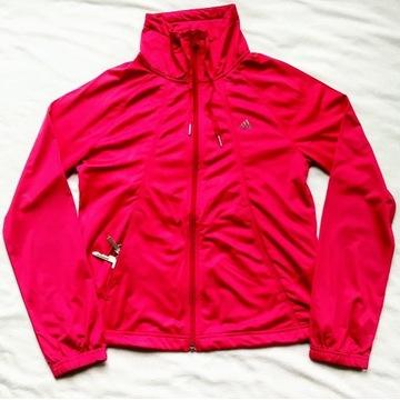 Adidas bluza sportowa z kieszeniami na zamek