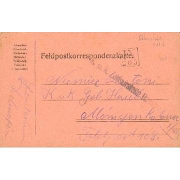 1916- Dobrzechów (Rzeszów), kamufl.st.okręg.IX-205