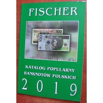 Katalog Banknotów Polskich - Fischer - 2019