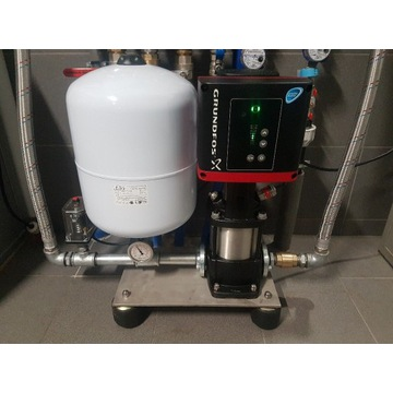 Grundfos CR E3-8 zestaw podnoszący ciśnienie Wilo