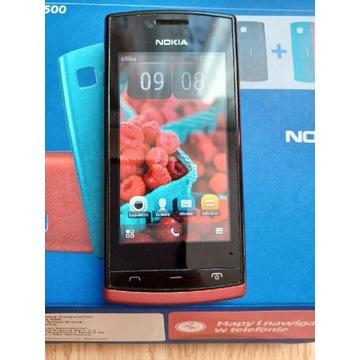 Telefon Nokia 500, stan bdb.