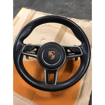 Kierownica Poduszka powietrzna Porsche Macan CZARN