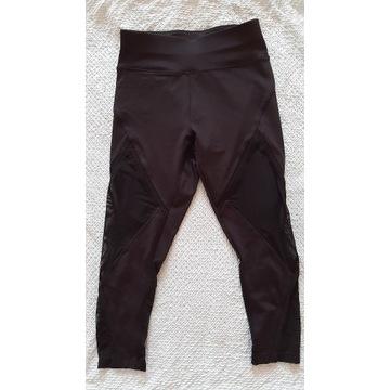 spodnie leginsy czarne Oysho XS/S