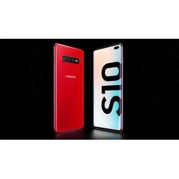 SAMSUNG GALAXY S10 Red  SM-G973F 8/128GB DUAL