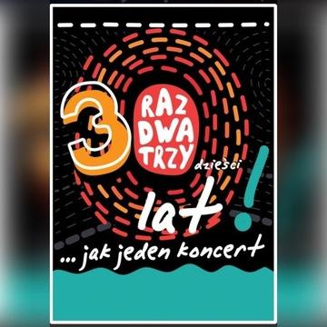 4x bilety na koncert Raz Dwa Trzy - Chorzów