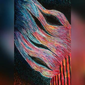 Obraz olejny abstrakcja 100/70