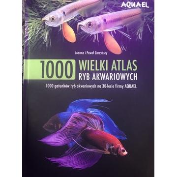 Wielki atlas ryb akwariowych Aquaell